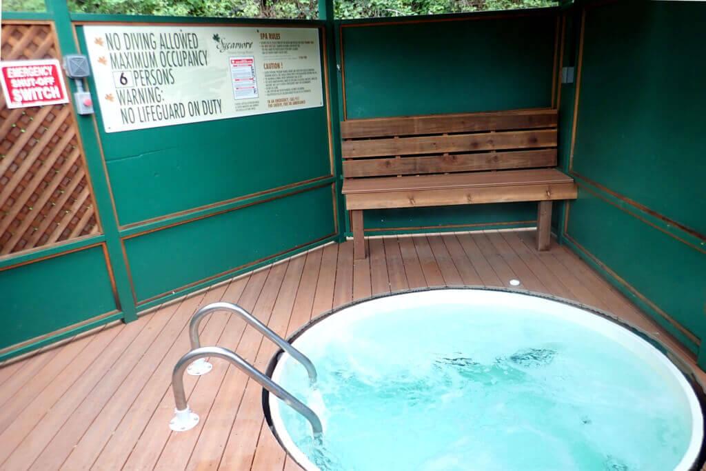 The Hillside Hot Tub