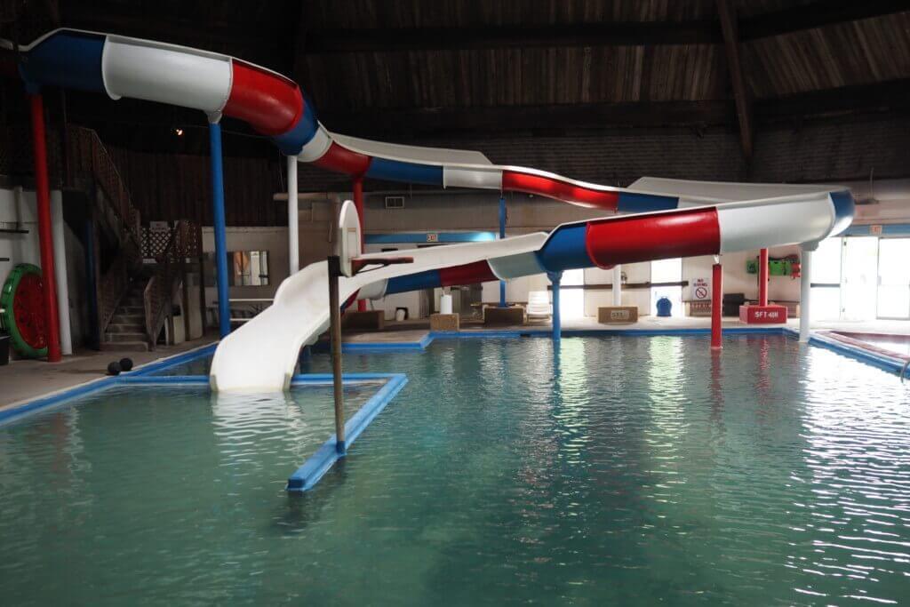 Inside Water Slide
