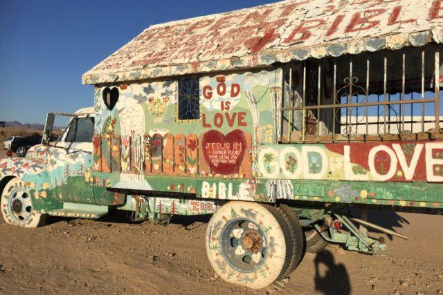 Leonard Knight's Truck