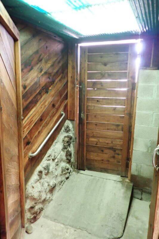 Door of Small Bath