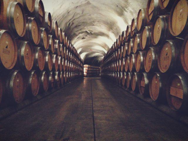 Underground at Justin Winery