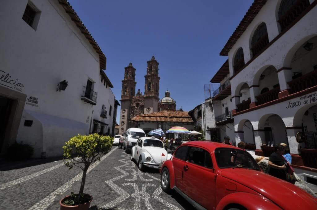 atasco en Taxco