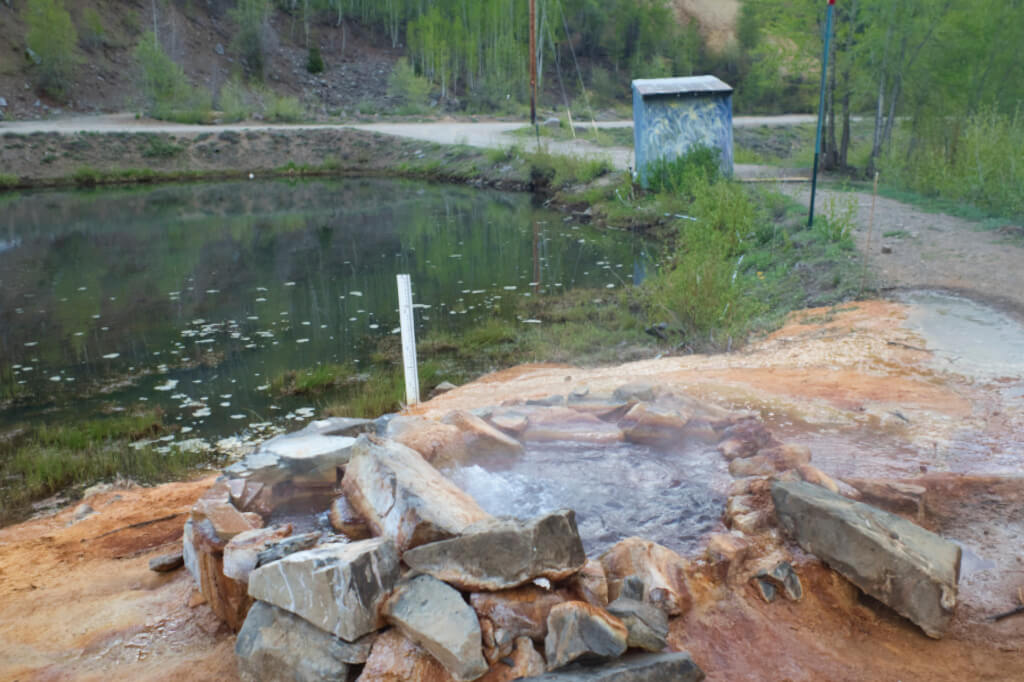 Rico #2 Thermal Spring Source 1