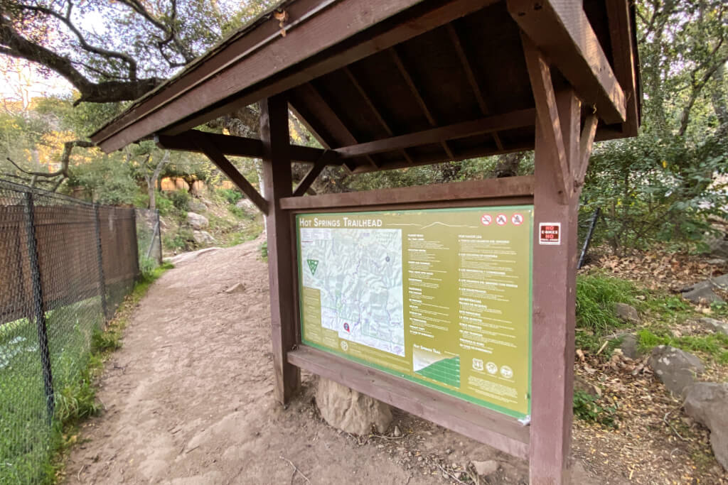 Hot Springs Canyon Trailhead 3